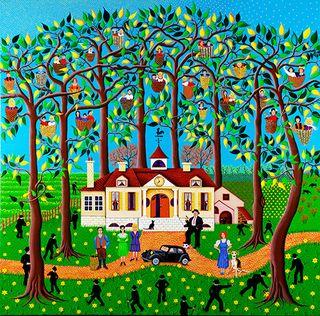 Les enfants dans les arbres